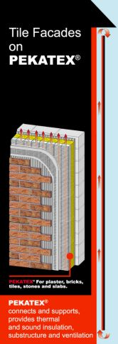 Tile Facades on PEKATEX®